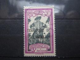 VEND BEAU TIMBRE TAXE D ' ININI N° 9 , (X) !!! - Inini (1932-1947)