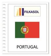 Suplemento Filkasol Portugal 2018 (complete Year) - Montado HAWID Transparentes - Álbumes & Encuadernaciones