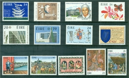 IRLANDE ANNEE 1987 COMPLETE N Xx N° 616 / 642 Dans Son Livret Cote 60.25 €. TB. - Annate Complete