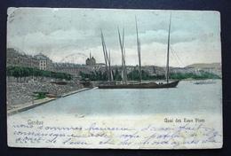 GENÈVE Quai Des Eaux Vives (Einriss Unten) - GE Genf