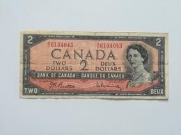 CANADA 2 DOLLAR 1954 - Canada