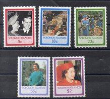 Iles SALOMON  Timbres Neufs ** De 1986 ( Ref 2519 ) Famille Royale - Elisabeth II - Salomon (Iles 1978-...)