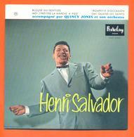 Henri Salvador CD 4 Titres Pochette Reproduction Du 45 Tours De L'époque - 2 Scans - Collector's Editions