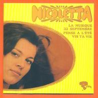 Nicoletta CD 4 Titres Pochette Reproduction Du 45 Tours De L'époque - 2 Scans - Collector's Editions