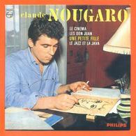 Claude Nougaro CD 4 Titres Pochette Reproduction Du 45 Tours De L'époque - 2 Scans - Collector's Editions
