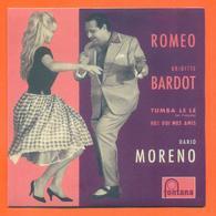 Dario Moreno Brigitte Bardot CD 4 Titres Pochette Reproduction Du 45 Tours De L'époque - 2 Scans - Collector's Editions