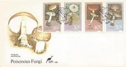 CISKEI FDC 1988 POISONOUS FUNGI - Ciskei