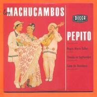 Les Machucambos CD 4 Titres Pochette Reproduction Du 45 Tours De L'époque - 2 Scans - Collector's Editions