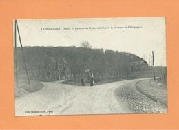 CPA -  Lyons La Forêt -  (Eure) -  Le Nouveau Boulevard  (Routes De Gournay Et D'Etrépagny ) - Lyons-la-Forêt