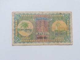 MALDIVE 1 RUPEE 1960 - Maldive