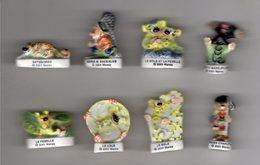 Série 8/12 Fèves Brillantes MARSUPILAMI 2001-2002 PRIME - Cartoons