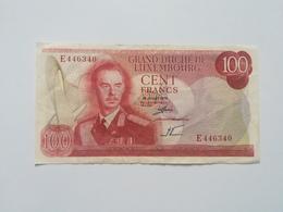 LUSSEMBURGO 100 FRANCS 1970 - Luxembourg
