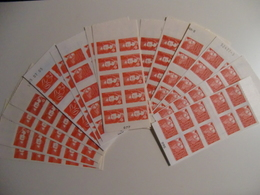 FRANCE FACIALE 142 € / 150 TIMBRES AUTOCOLLANTS A VALIDITE PERMANENTE SUP - Collections