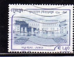 ITALIA REPUBBLICA ITALY REPUBLIC 2008 GIUSEPPE PIERMARINI USATO USED OBLITERE' - 6. 1946-.. Repubblica