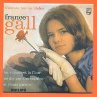 France Gall CD 4 Titres Pochette Reproduction Du 45 Tours De L'époque - 2 Scans - Collector's Editions