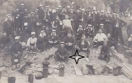 Vallée Du VAR. Manoeuvres De L'INFANTERIE En 1910. Le Repas. - France
