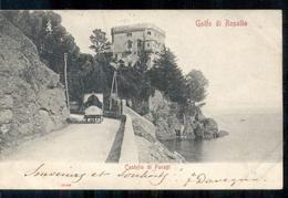 Italië Italy Italia - Golfo Di Rapallo - Castello Di Paragi  -  1903 - Italie