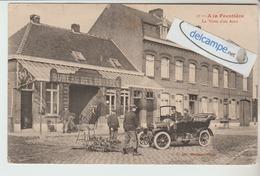 Ala Frontiére,Bureau Des Douanes,la Visite D'une Auto. édit Hautmont. - France