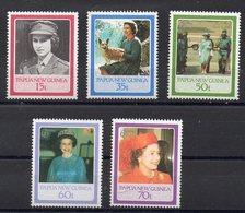 PAPOUASIE NOUVELLE GUINEE  Timbres Neufs ** De 1986 ( Ref 2528 ) Famille Royale -  Elisabeth II - Papouasie-Nouvelle-Guinée