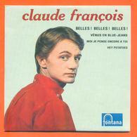 Claude François CD 4 Titres Pochette Reproduction Du 45 Tours De L'époque - 2 Scans - Collector's Editions