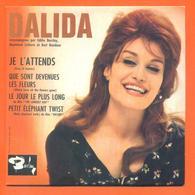 Dalida CD 4 Titres Pochette Reproduction Du 45 Tours De L'époque - 2 Scans - Collector's Editions