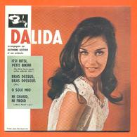 Dalida CD 4 Titres Pochette Reproduction Du 45 Tours De L'époque - 2 Scans - Collectors