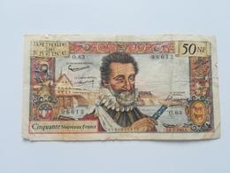 FRANCIA 50 NUOVI FRANCS 1961 - 1959-1966 Nouveaux Francs