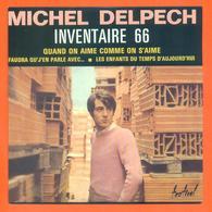 Michel Delpech CD 4 Titres Pochette Reproduction Du 45 Tours De L'époque - 2 Scans - Collector's Editions