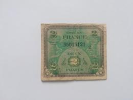 FRANCIA 2 FRANCS 1944 - Trésor