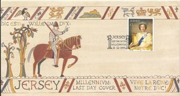 JERSEY FDC 1999 MILLENIUM LAST DAY COVER - Jersey