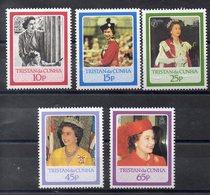 TRISTAN DA CUNHA  Timbres Neufs ** De 1986 ( Ref 2529 B) Famille Royale -  Elisabeth II - Tristan Da Cunha