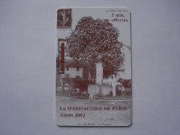 Carte Prépayée SWITCHback (NEUF - SPECIMEN). - France