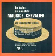 Maurice Chevalier Et Les Chaussettes Noires CD 4 Titres Pochette Reproduction Du 45 Tours De L'époque - 2 Scans - Collector's Editions