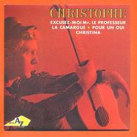 Christophe CD 4 Titres Pochette Reproduction Du 45 Tours De L'époque - 2 Scans - Collector's Editions