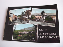 Reggio Calabria - Saluti Da S. Eufemia D'Aspromonte - Reggio Calabria