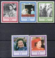 SWAZILAND Timbres Neufs ** De 1986 ( Ref 2529 D) Famille Royale -  Elisabeth II - Swaziland (1968-...)