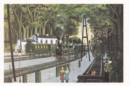 La Gare Forstiere Paul Delvaux - Trenes