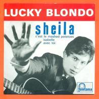 Lucky Blondo Sheila CD 4 Titres Pochette Reproduction Du 45 Tours De L'époque - 2 Scans - Collector's Editions