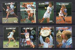 SAINT VINCENT   Timbres Neufs ** De 1987 ( Ref 2534)    Sport - Tennis - St.Vincent (1979-...)