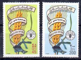 1981; Journée Mondial De L'Alimentation, YT 937 + 938, Neuf **, Lot 50654 - Libye