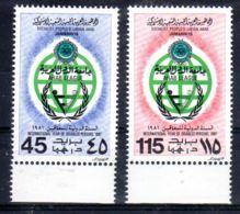 1981; Année Int. Des Pesonnes Handicapées; YT 981 + 982, Neuf **, Lot 50655 - Libye