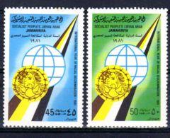 1981; Contre Discrimination Raciale;  YT 925 + 926, Neuf **, Lot 50656 - Libye