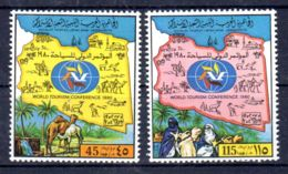 1980; Tourisme;  YT 882 + 883, Neuf **, Lot 50657 - Libye
