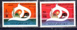 1980 ; La Sainte Ka'ba; YT 845 + 846, Neuf **, Lot 50665 - Libye