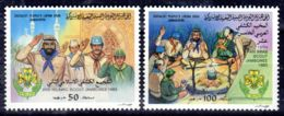 1983 ;Scouts; YT 1216 + 1217, Neuf **, Lot 50666 - Libye