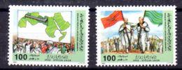 1984 ;Union Des Arabes D'Afrique; YT  1437 + 1438, Neuf **, Lot 50668 - Libye