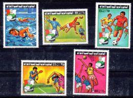 1977 ; Jeux Sportif Jeunesse; YT 653 - 657, Neuf **, Lot 50670 - Libye