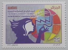 ALGERIE ALGERIA INTERNATIONAL DAY OF WOMEN ENTREPRENEURSHIP JOURNEE MONDIALE ENTREPREUNARIAT FEMININ 2018 - MNH - Algerien (1962-...)