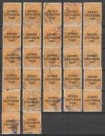 MiNr. 255 Guatemala /  1931, 16. Mai. Flugpostmarke Für Das Ausland. Freimarke MiNr. 224 Mit Dreizeiligem Aufdr - Guatemala