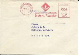 Oblitération Temporaire Allemagne 1952, Minéraux, Diamant - Minéraux